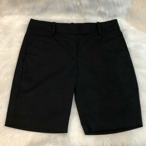 Ann Taylor Bermuda Shorts Size 6 Black Cotton